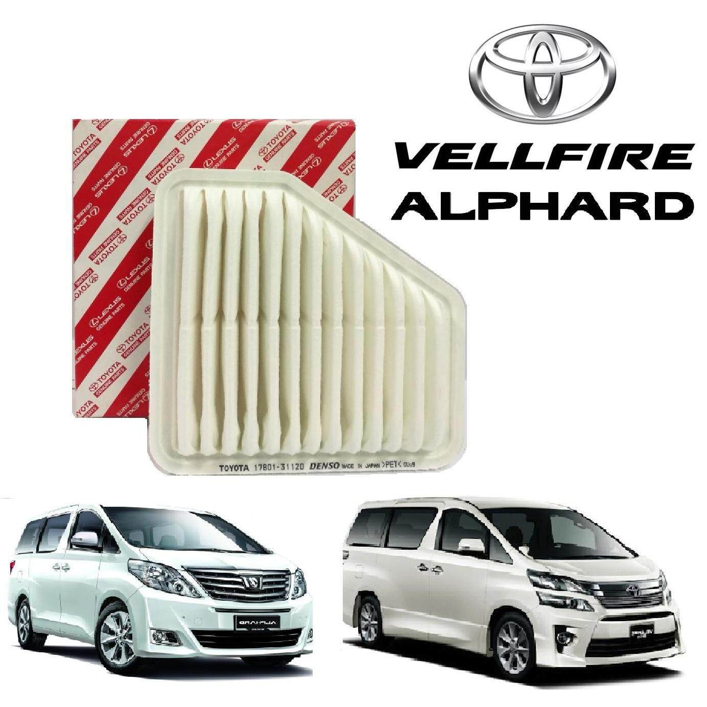 Toyota Auto Parts Spares Price In Malaysia Best Previa Fuel Filter Location Vellfire Alphard Anh20 High Quality Air 2008 2014