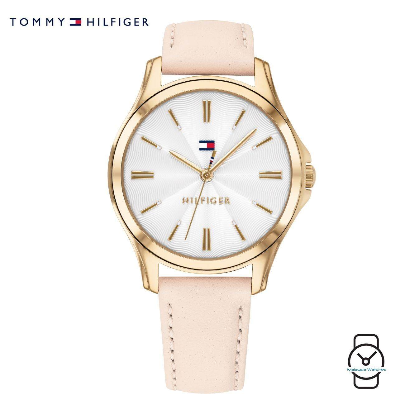 (100% Original) Tommy Hilfiger Women s 1781954 Pink Leather Watch (Pink) 00472c47b9f