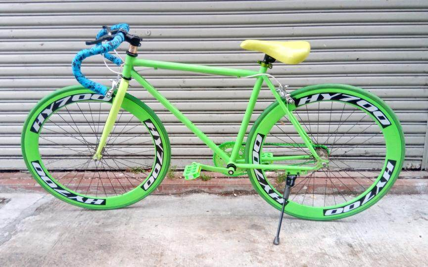 Fixie Bike Fixed Gear Bicycle By Power Rider.