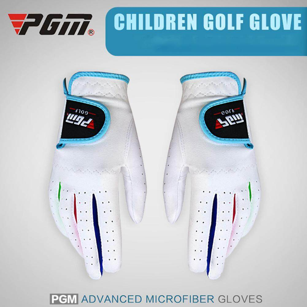 1 Pair Of Kids Golf Gloves Left/right Hand Anti-Skid Glove For Outdoor By Super Star Mall.
