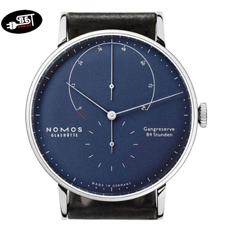 YBC Fashion Watches Two High-Grade Needle Men Quartz Watch Nomos Blue Gold Surface Keyin Watch Malaysia