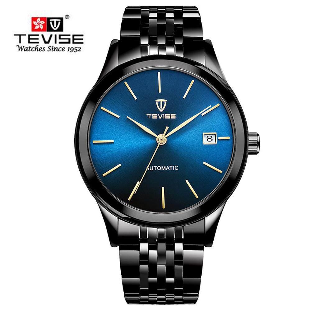 TEVISE Men Automatic Mechanical Watches Waterproof Business Casual Clock Fashion Sport Wristwatch