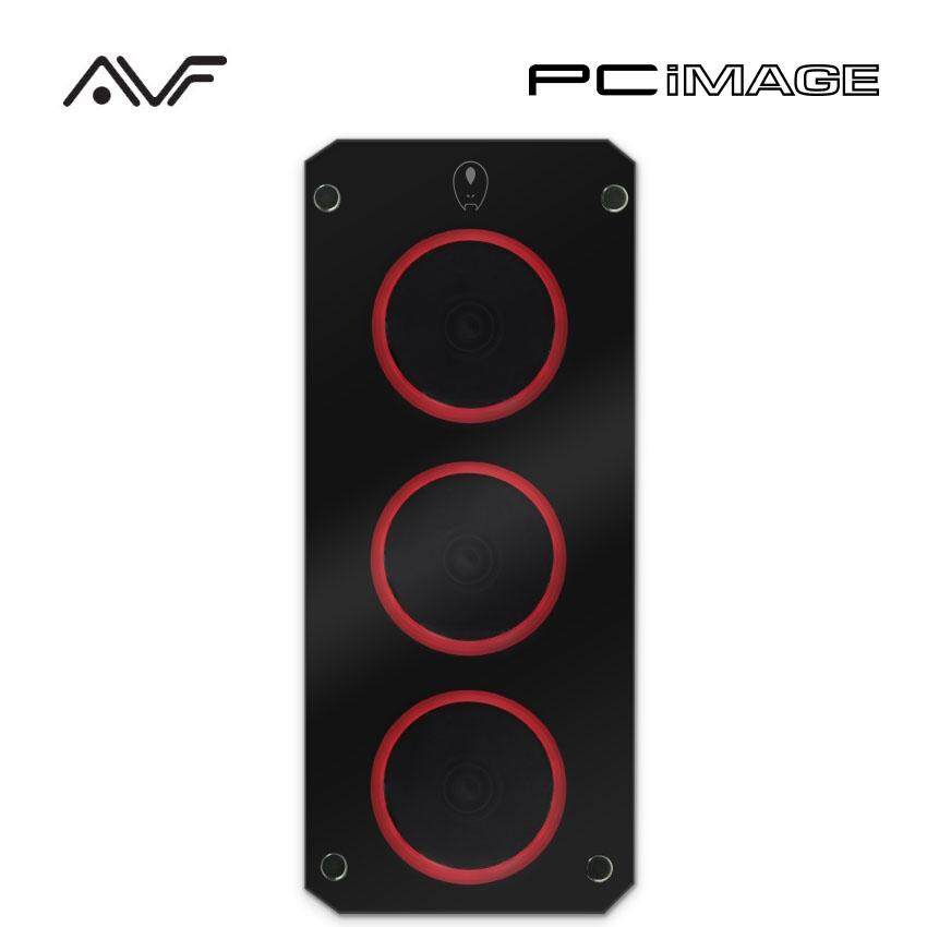 AVF Gaming Freak M2 820G Tempered Glass Middle Tower PC Casing-Black Malaysia