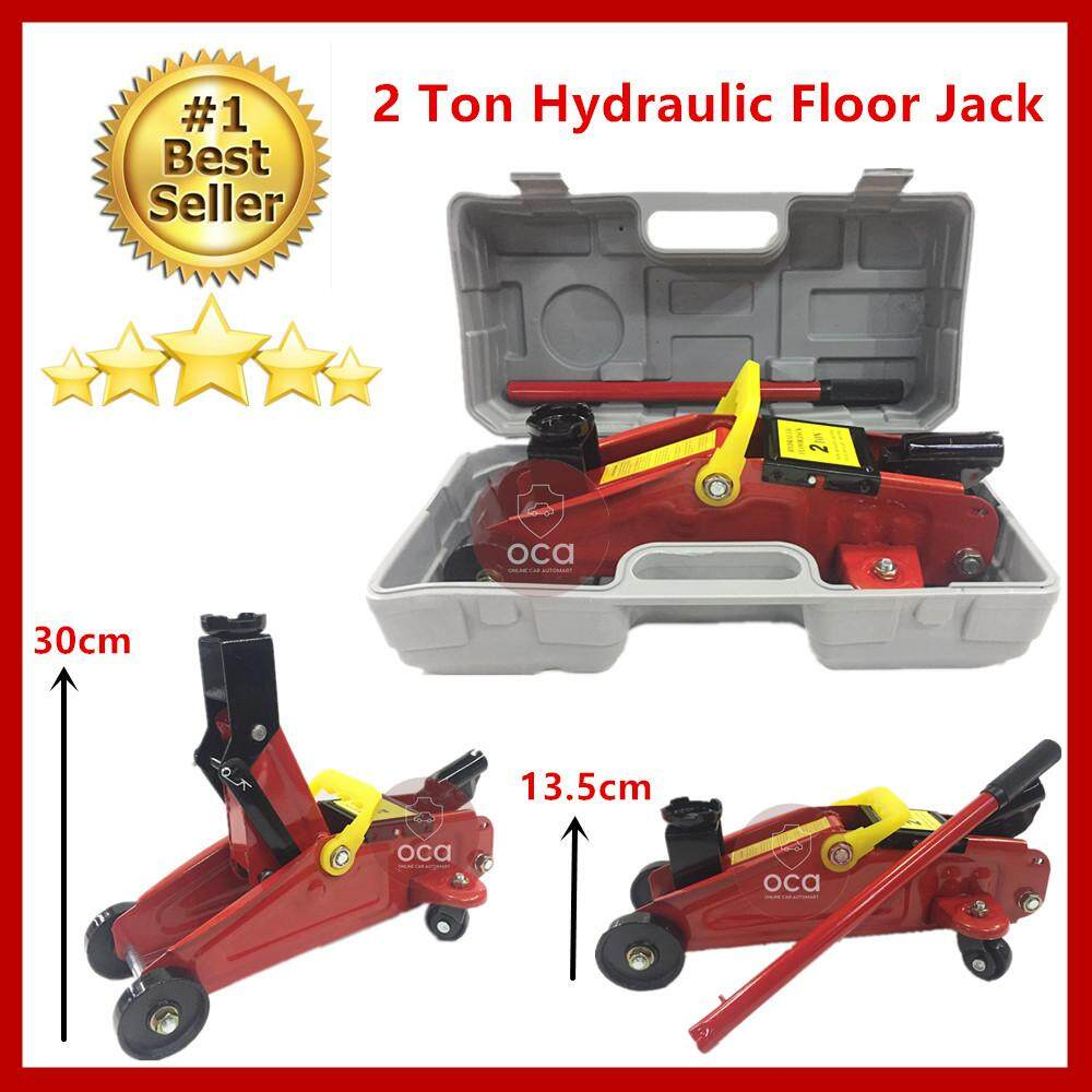 Car 2 Ton Hydraulic Floor Jack By Online Car Accessories.