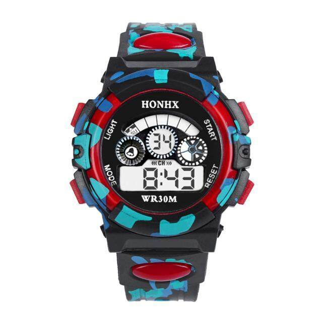 Docesty Outdoor Multifunction Waterproof kid Child/Boys Sports Electronic Watches RD Malaysia