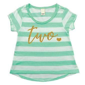 Baru Bump And Beyond Designs Girl Second Birthday Outfit Shirt Two Year Old T Promosi