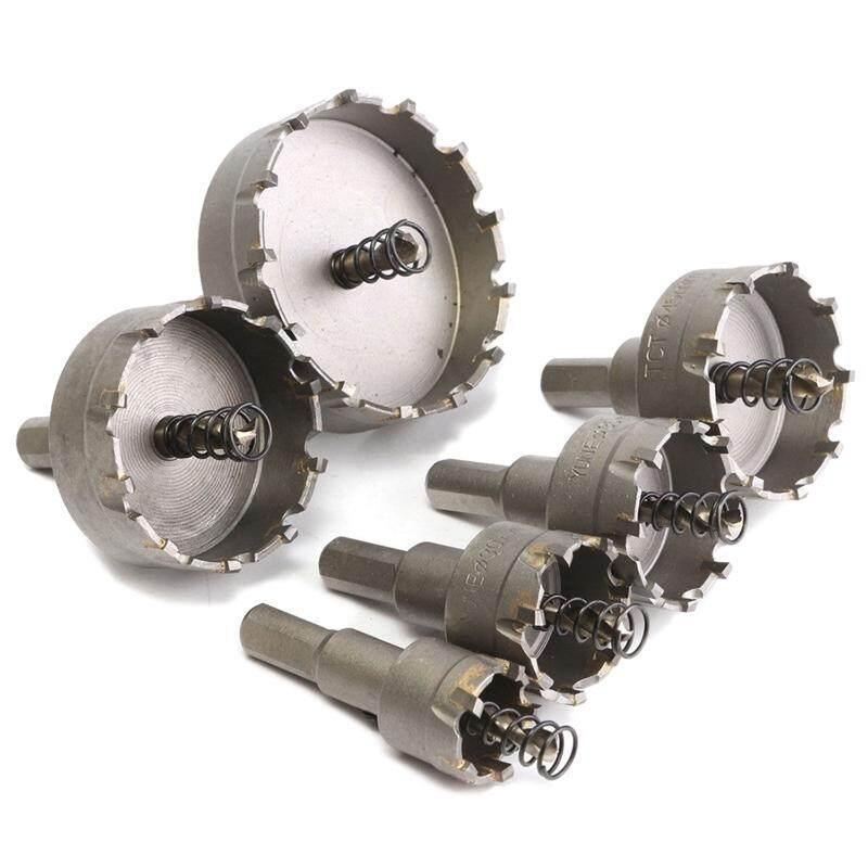 6Pcs Hole Saw Set Carbide Tip Drill Bit Hole Saw Alloyl Cutter