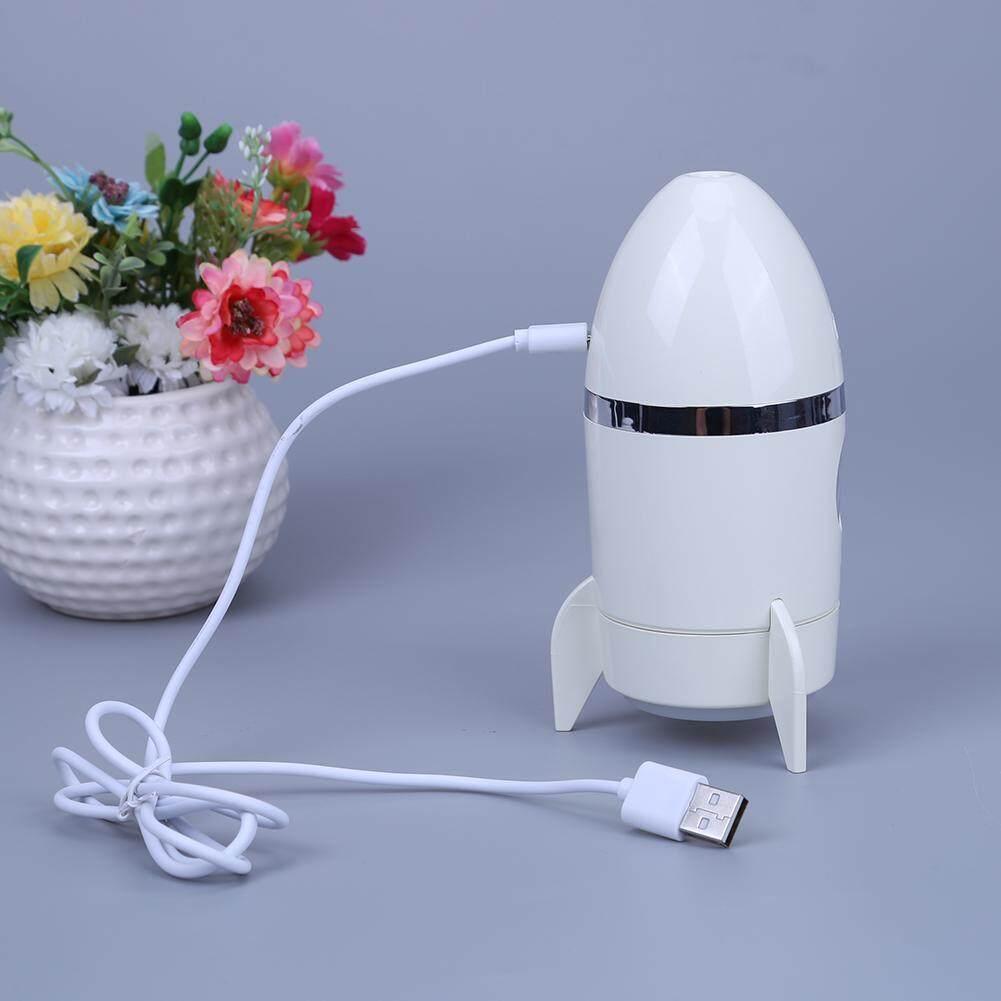 Alloet 135ML Rocket Air Humidifier Mist Maker Fogger Mini Ultrasonic Humidifier USB Air Diffuser Essential Oils for Aromatherapy