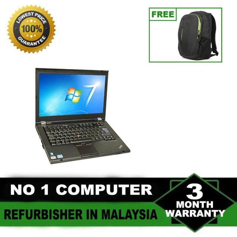 (Refurbished Notebook) Lenovo Thinkpad T420 14 LCD Laptop / Intel Core i5-2520m / 250GB Hard Disk / 4GB Ram / Windows 7 Malaysia