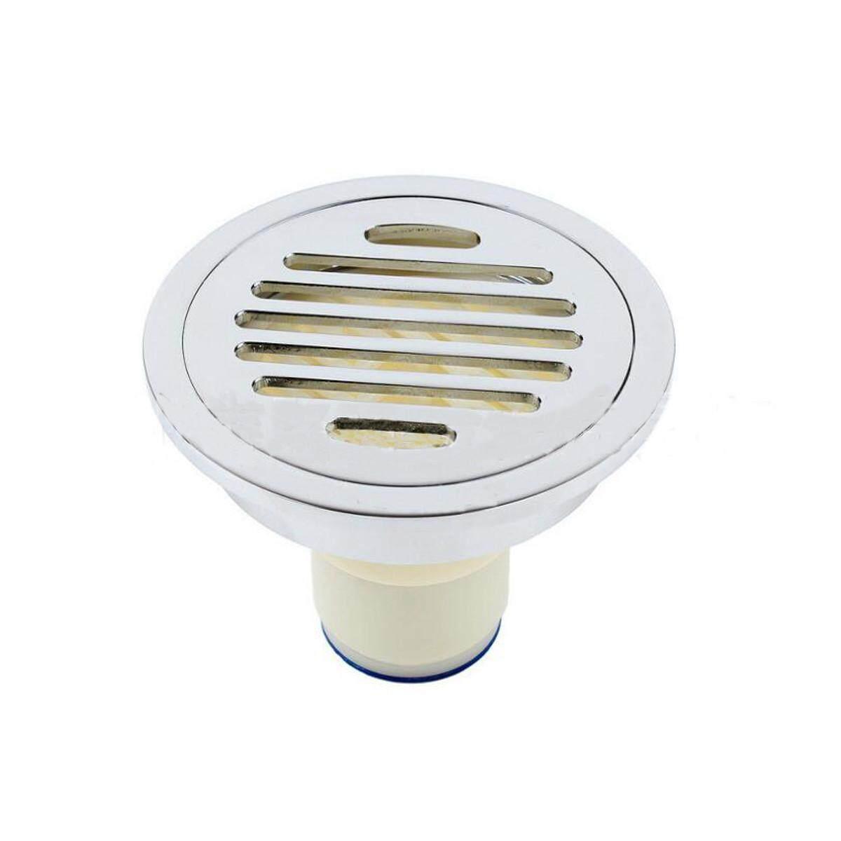 Floor Drain Round Bathroom Kitchen Wet room Shower Drain Grate Brass Plumbing# single-purpose