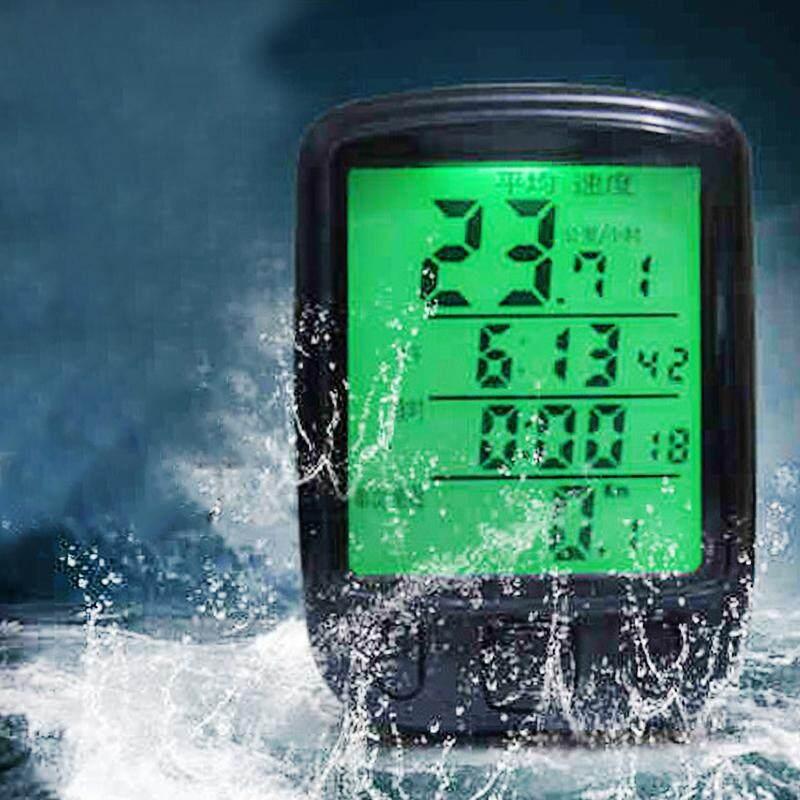 Bicycle Speedometer Odometer Multifunction Wireless/wired Waterproof Bicycle Stopwatch By Outdoor Lizard.