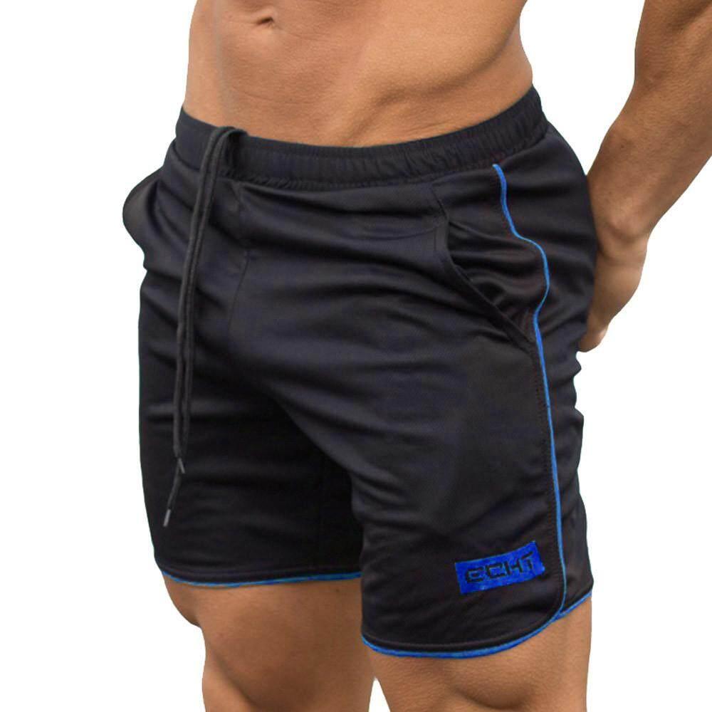 e112b9bc6ed7 chinastorenie Men s Sports Training Bodybuilding Summer Shorts Workout  Fitness GYM Short Pants