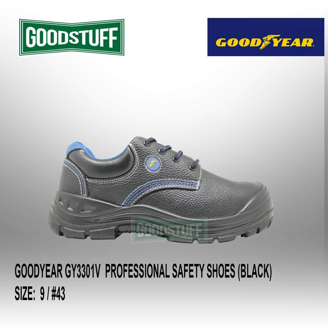 GOODYEAR GY3301  WING COMFI VALUE - PROFESSIONAL SAFETY SHOES (BLACK)  6 / #40