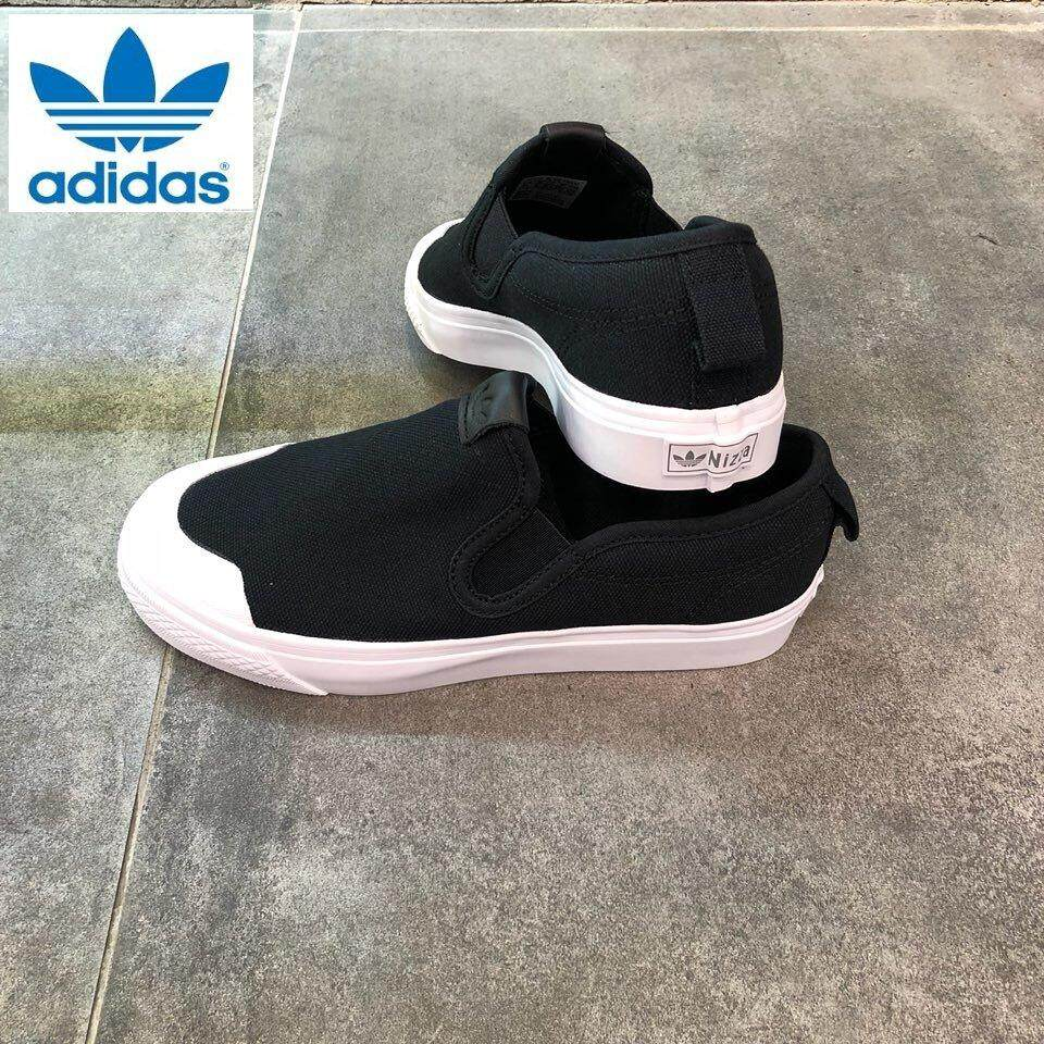 Adidas Women s Flat Shoes - Slip-Ons price in Malaysia - Best Adidas ... 3be9f5066