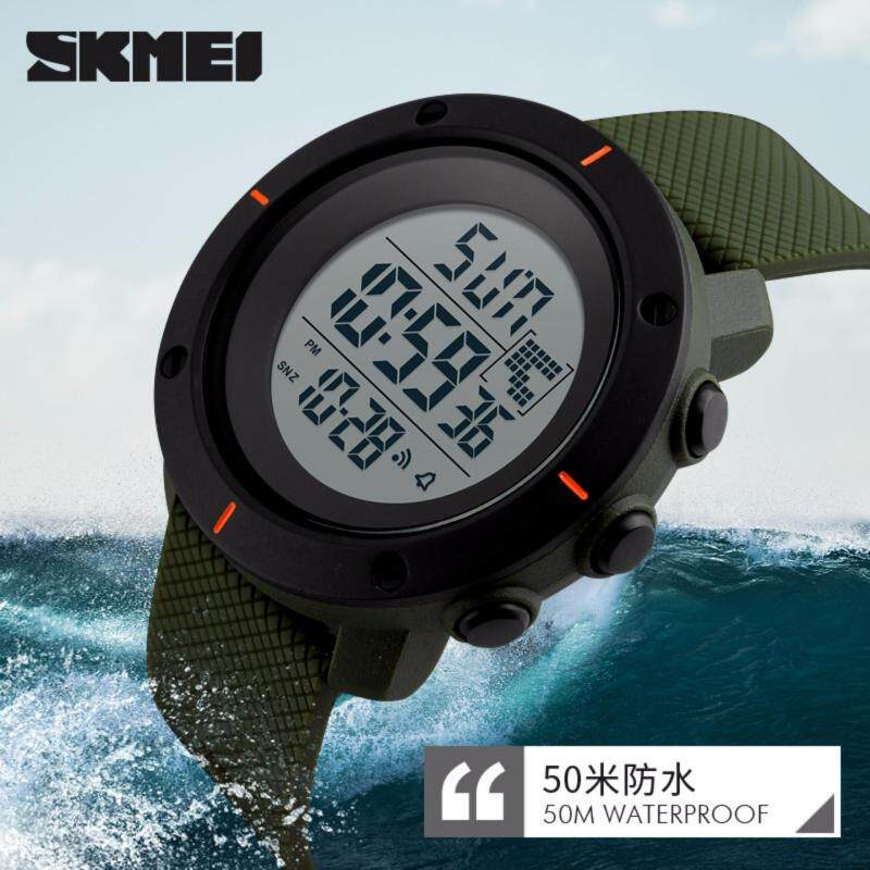SKMEI Brand Watch 1213 New Men Sports Watches LED Digital Watch Fashion Simple Waterproof Wristwatches Jam tangan lelaki Malaysia