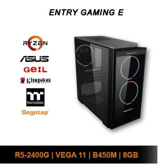 [Custom PC] AMD Entry Gaming E (R5 2400G / 8GB / 1TB HDD / Vega 11)