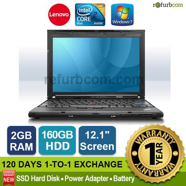 LENOVO THINKPAD X200 / CORE 2 DUO (160GB SATA) [refurbished] Malaysia