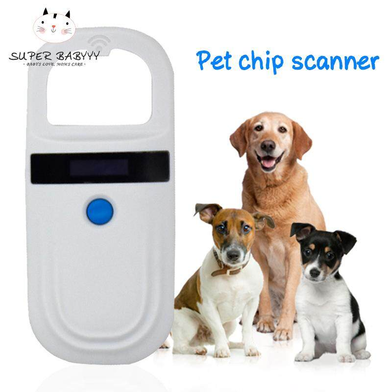 98e5734f2d03 SBY Pet Microchip Scanner Animal RFID Tag Reader Dog Pig Ear Reader  134.2KHZ(available