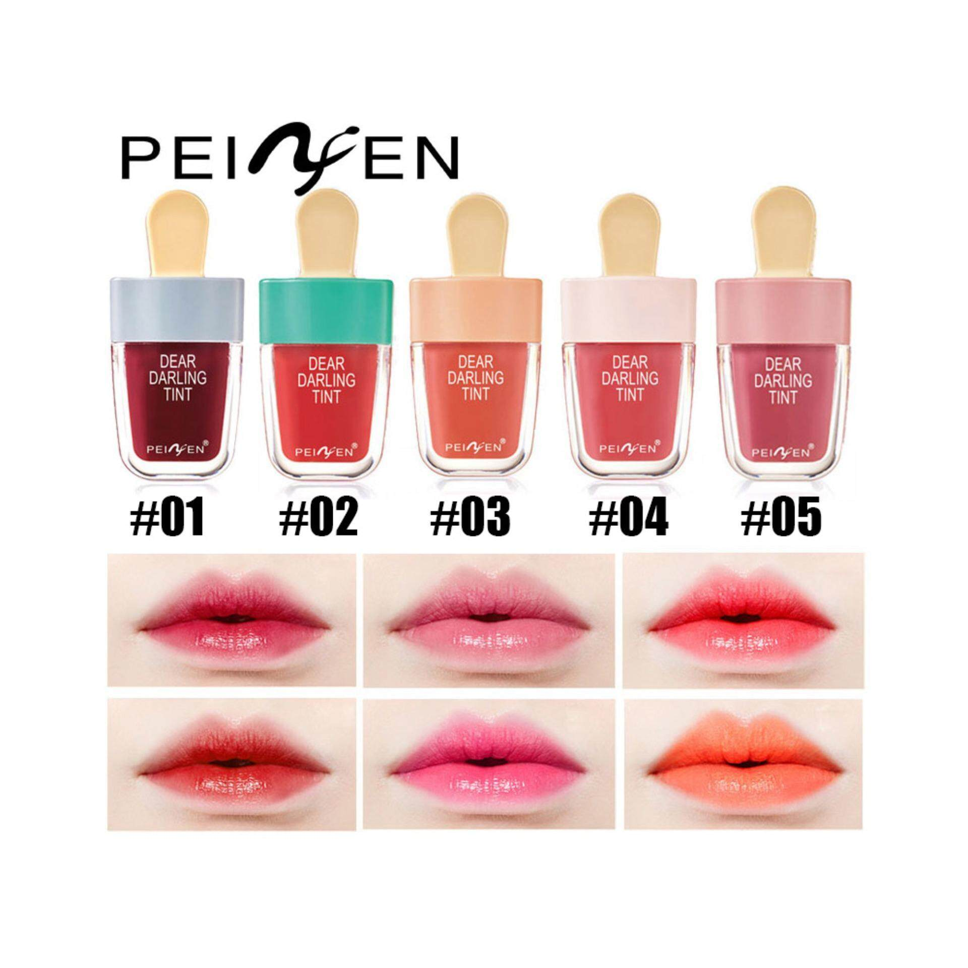 Peiyen 5 In 1 Fresh Sweet Jelly Ice Cream Lipstick Water Liptint Silkygirl Moisture Smooth Lip Color 03 Simply Pink 6g 3331 1box X5pc Malaysia