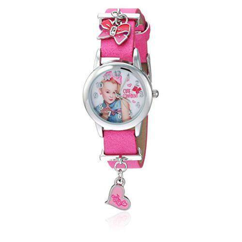 [Jojo Siwa] Jojo Siwa Girls Quartz Metal Casual Watch, Color:Pink (Model: joj5002) [From USA] Malaysia