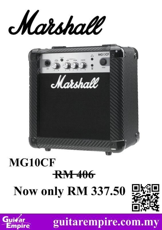Marshall 10w Guitar Amplifier MG10CF, electric guitar amplifier Malaysia