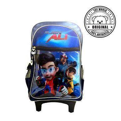 Toy World Ejen Ali Trolley Bag (l) (original Licensed) By Toy World Online.