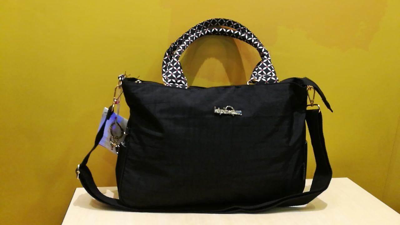 Clarence Kipling Summer Tropic Bloom( Black) Medium Handbag  Shoulder Bag  Free 1 x 0515280dfe