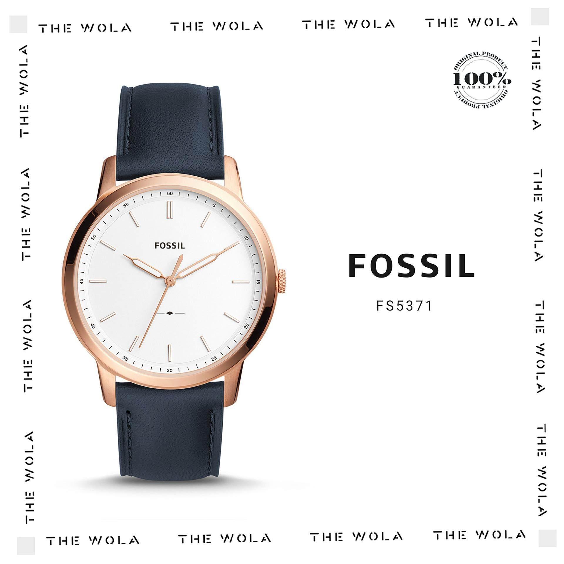 Fossil Watches Price In Malaysia Best Lazada Jam Tangan Wanita Original Es3565 Casual Men Watch Fs5371 Genuine 2 Years Warranty