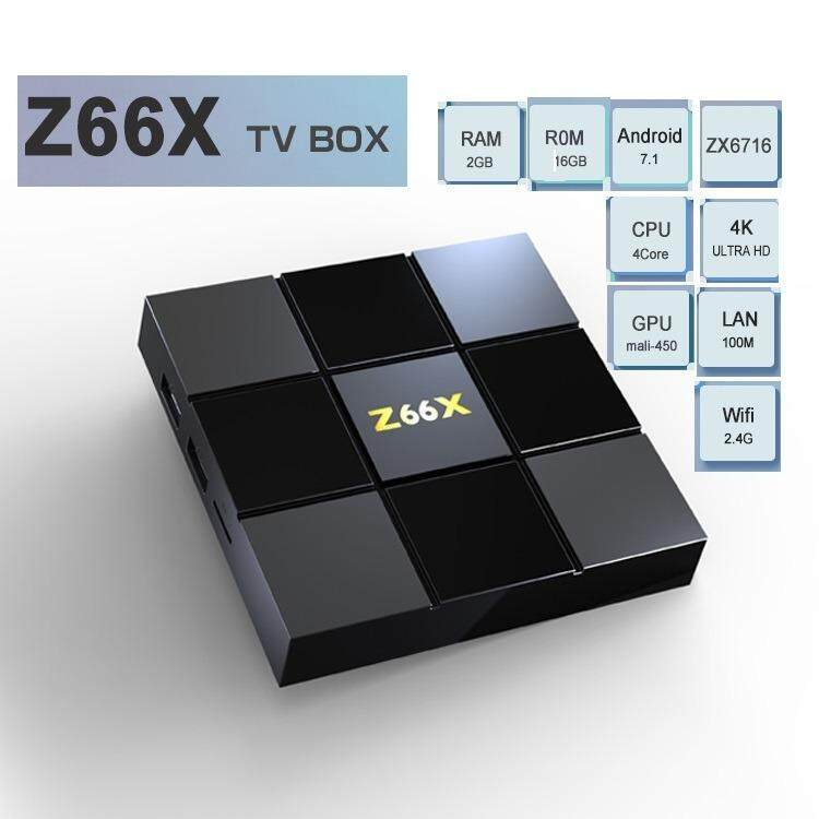 Z66X Z2 ZTE ZX296716 2GB RAM 16GB ROM Android 7.1 WIFI 4K Tv Box