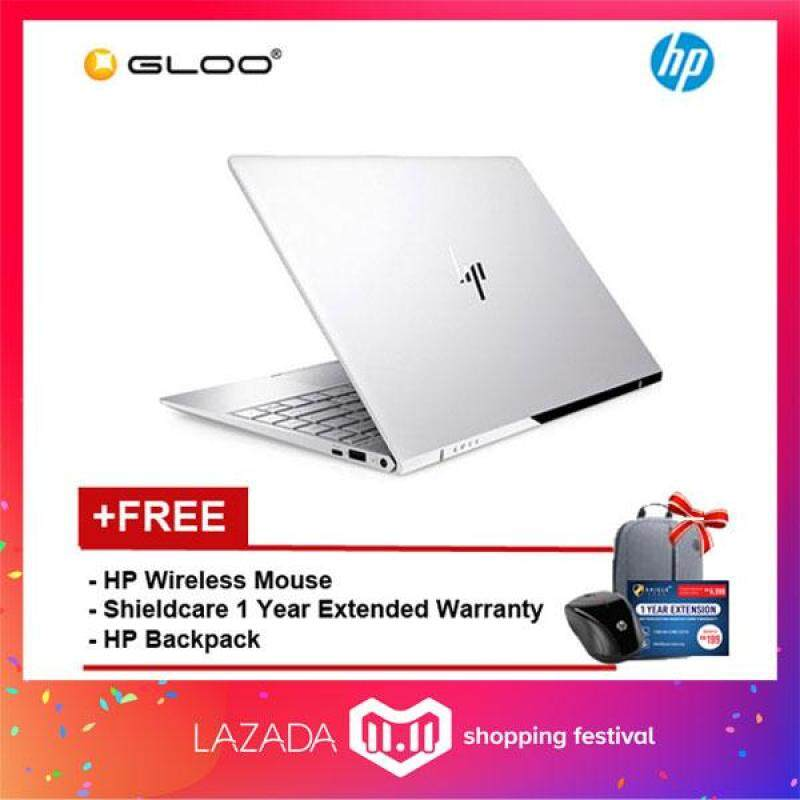 HP ENVY 13-ad173TU Notebook (Intel i5-8250U,256GB,4GB,13.3,W10,Intel HD,Silver) [FREE - Shieldcare 1 Year Extended Warranty, HP Backpack and HP Wireless Mouse] Malaysia