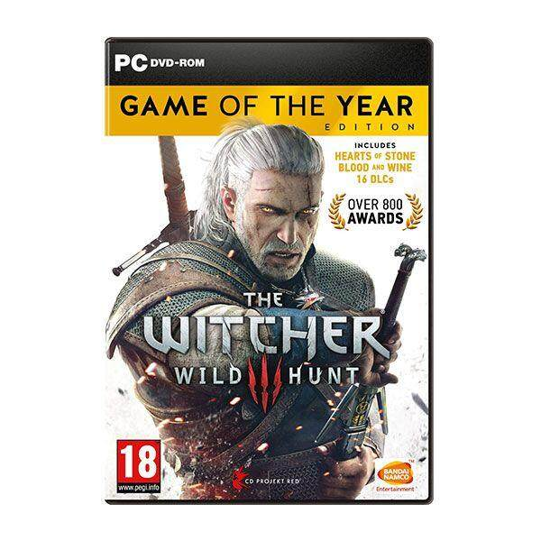 The Witcher 3: Wild Hunt (game Of The Year) Offline With Dvd Game By Nadhi Imani Enterprise.