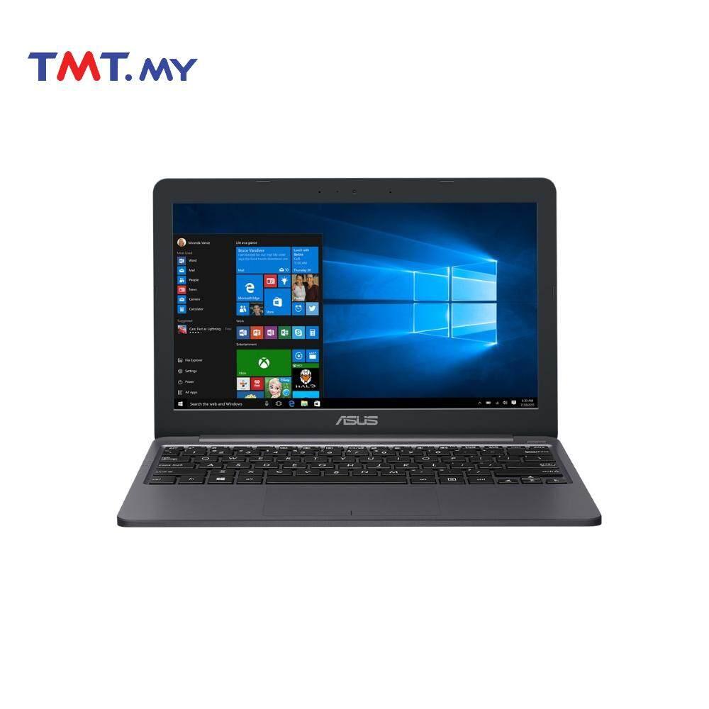 Asus Vivobook E203N-AHFD086T Laptop  Celeron N3350  4GB  500GB  11.6  W10 - Grey Malaysia