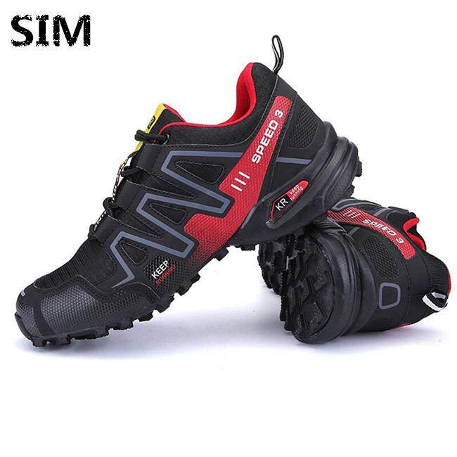 39f8349cdc42 SIM Men Shoes Sport Outdoors Hiking Shoes Waterproof Sneakers Shoes  Breathable Shoes