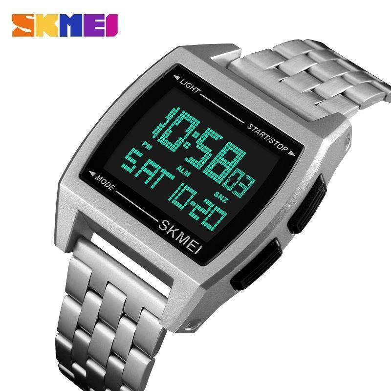 SKMEI 1368 Men/Women Digital Wrist Watch Rectangle Waterproof Sport Watches Malaysia