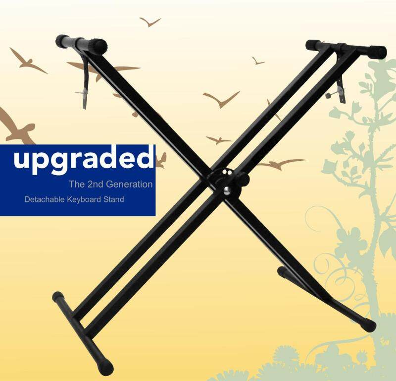 Portable Double X Solid Heavy Duty Music Keyboard Stand  piano stand Malaysia