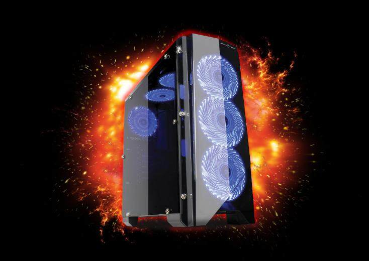 AVF Gaming Freak Moon Priestess Tower Case with Side Window Malaysia