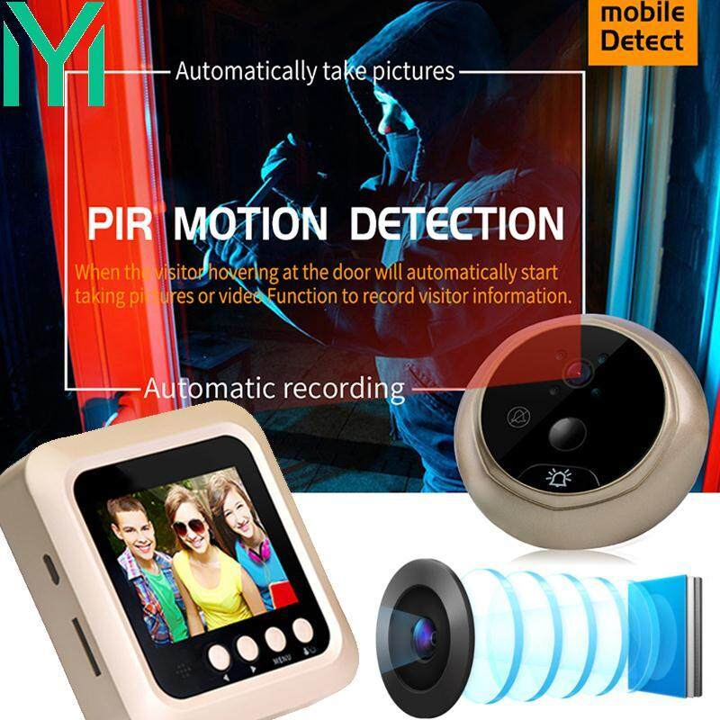 Doorbell Camera Dooreye Premium Protable 2.0 MP LCD Indoor Night Vision