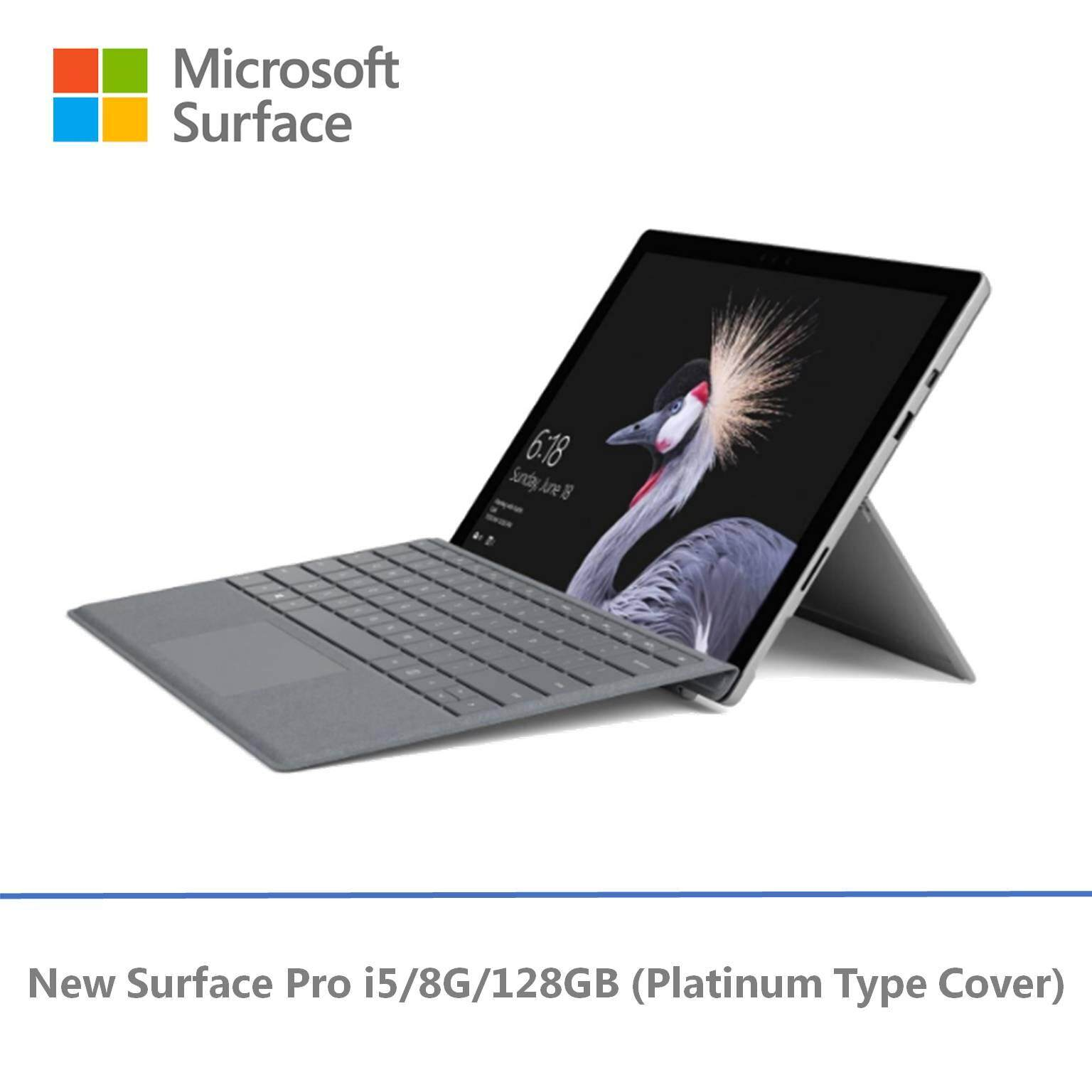 Microsoft New Surface Pro - 128GB / Intel Core i5 - 8GB RAM + Signature Pro Type Cover Malaysia