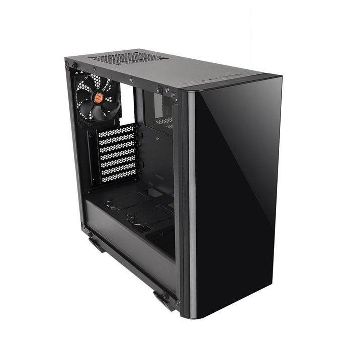 [CAS]Thermaltake View 21 Mid Tower ATX Case Black - Tempered Glass Malaysia