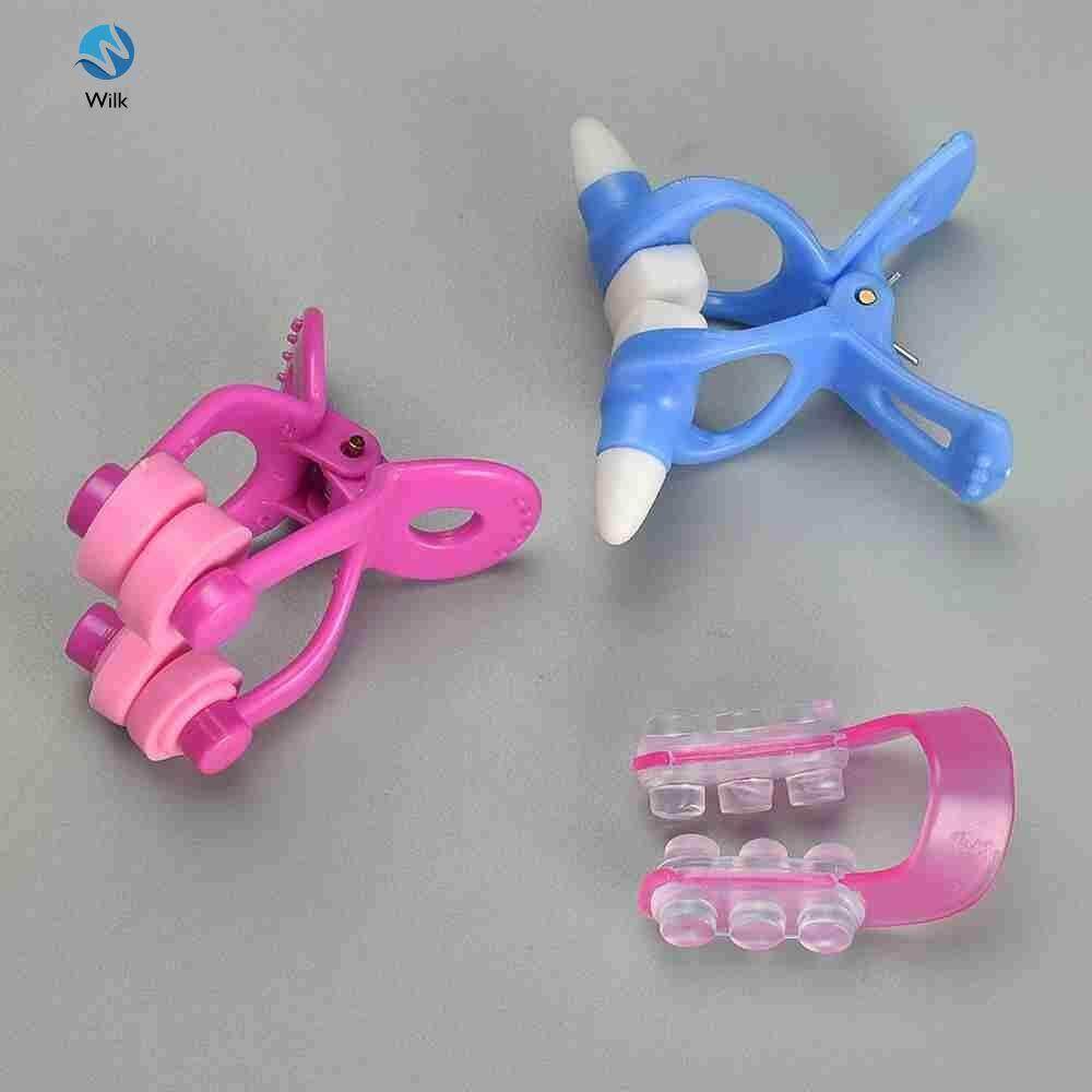 Wilk 3Pcs/Lot Nose Up Shaper Lifting Clip Nose Bridge Straightening Beauty Nose Clip Corrector