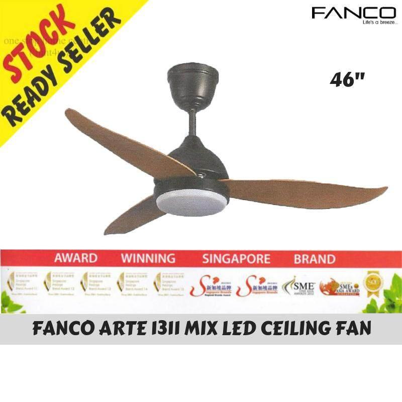 Fanco Arte 1311 Mix Led Ceiling Fan