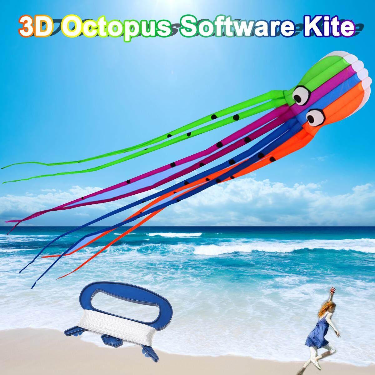 3d Octopus Kite 3d Cartoon Software Kite Outdoor 3d Coourful Kite By Freebang.