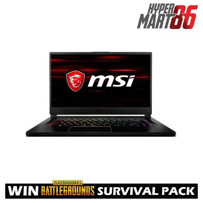 [PUBG]MSI GS65-8RF-098MY Stealth Thin Gaming Notebook (15.6inch / Intel I7 / 16GB / 512GB SSD / GTX1070 8GB) Malaysia