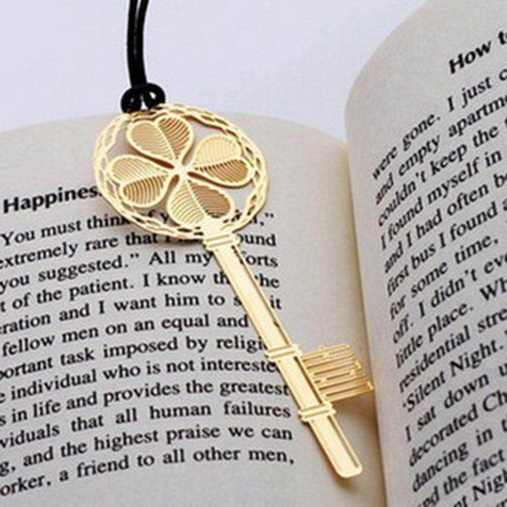 Ubest Unique Lucky Pendant Stainless Steel Stationery Bookmark Book Mark Gifts New By Ubestpom.