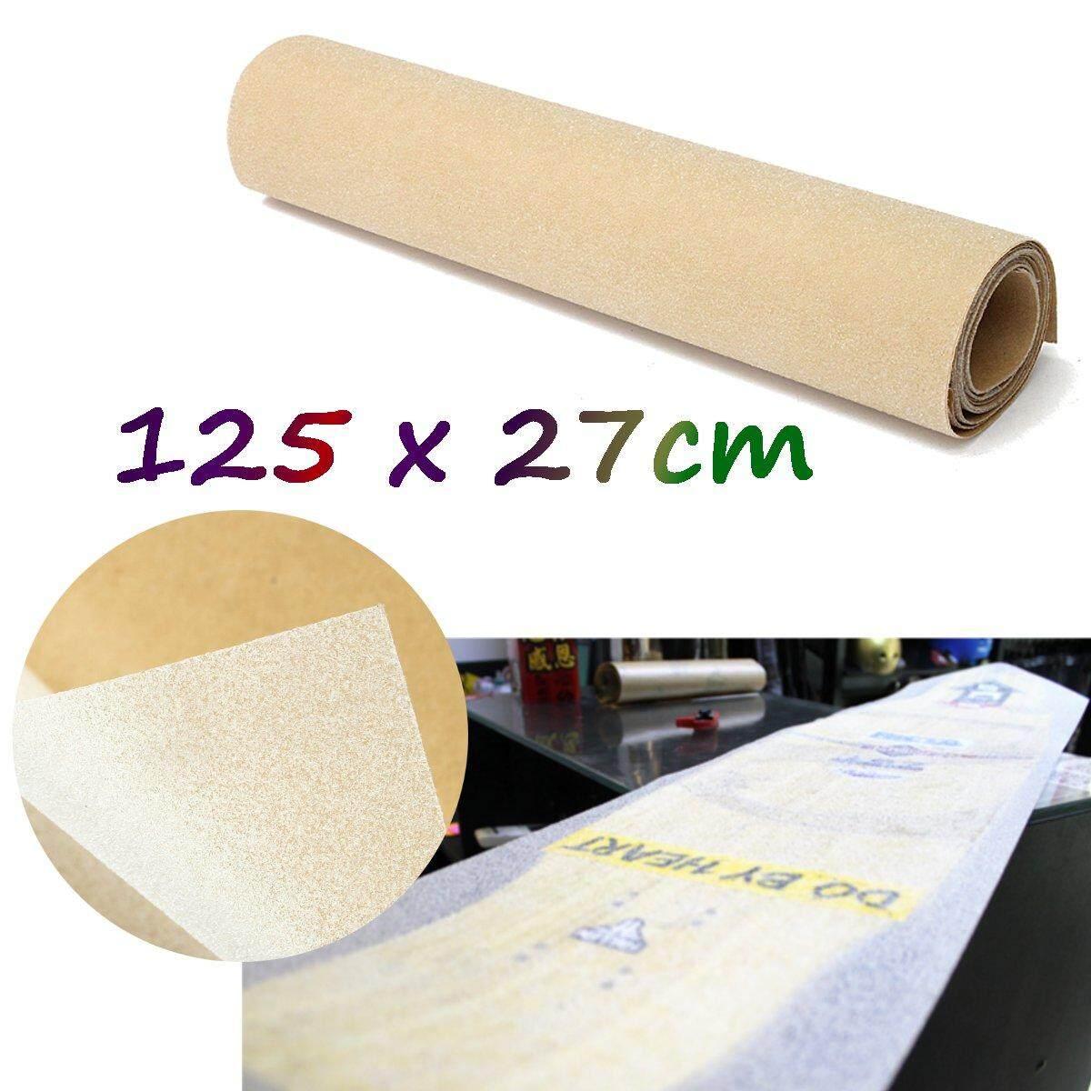 PVC 50 x 10 Longboard Skateboard Griptape Thickened Grip Tape Sheet Clear