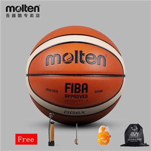 Molten Gg7x Gg6x Basketball Ball Pu Materia Official Size7 Size6 Basketball Indoor And Outdoor Ball Training Equipment Free With Net + Bag And Needle By Enjoy House.