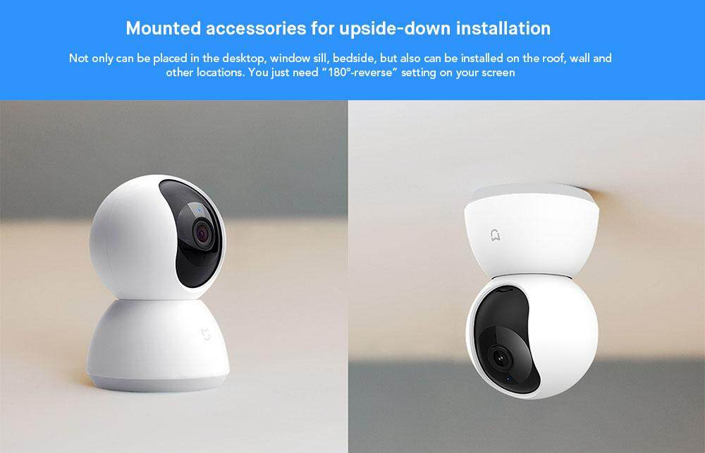 Original Xiaomi MiJia 1080P 360 Degrees Home Panoramic WiFi IP Camera