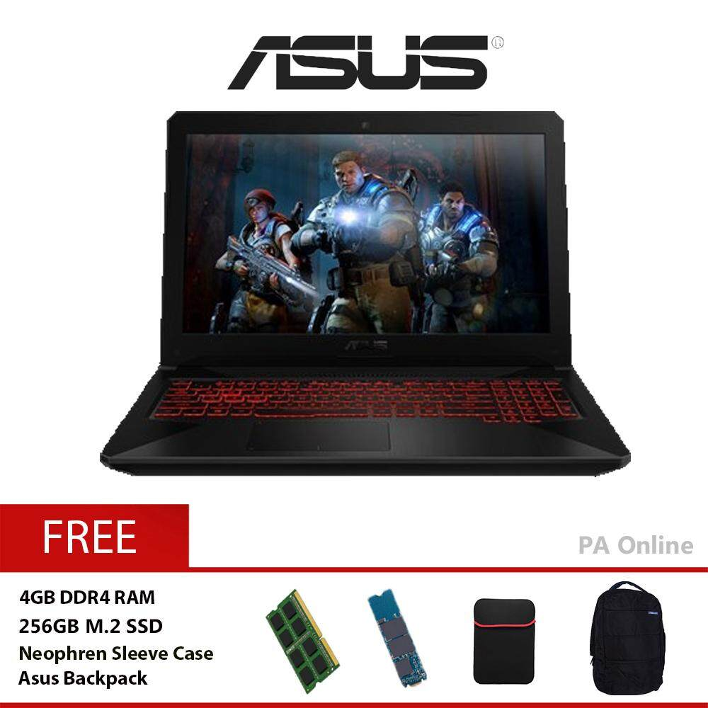 ASUS TUF Gaming FX504G-DDM491T -256GB /Intel Core i5-8300H /8GB DDR4 /256GB+1TB HDD /15.6  Full HD /4GB NVD GTX1050 /WIN 10 Malaysia
