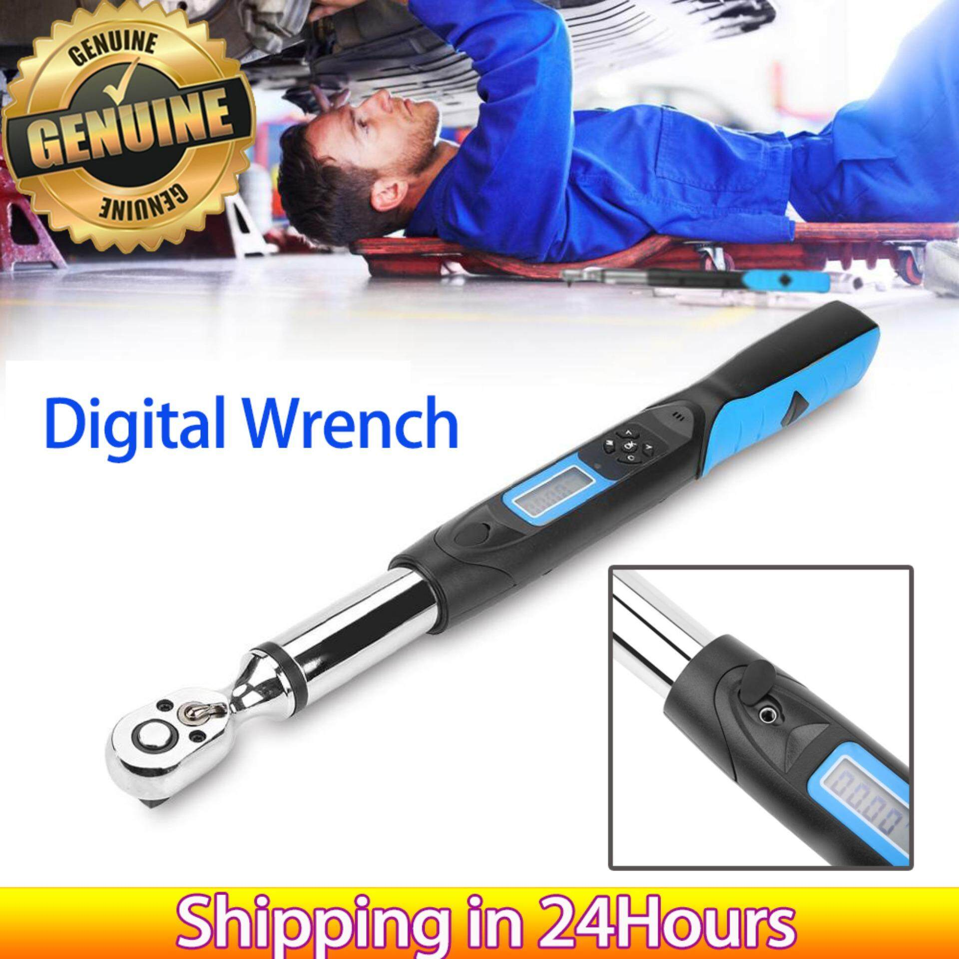 Stainless Steel 85N.m 3/8 Digital High Accuracy Torsion Bidirectional Ratchet Head Electronic Wrench