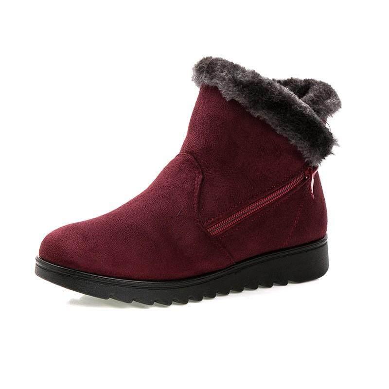 0f9904bf7b2  Winter Boots Help U Travel Around the World New Fashion Winter Women Non  Slip